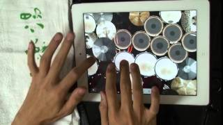 Repeat youtube video [iPad drum cover] DragonForce - Through The Fire And Flames[Lightning Finger!]