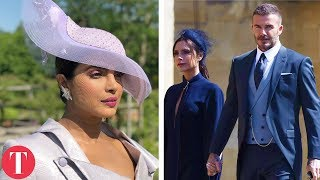 all the celebs attending the royal wedding
