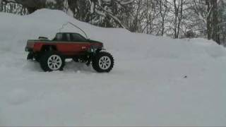 Losi High Roller 1/10 in snow