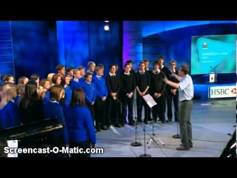 Cor Ystalyfera - Non Nobis Domine - Eisteddfod yr Urdd 2011 - Abertawe ar Fro
