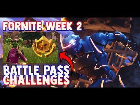 Fortnite WEEK 2 CHALLENGES GUIDE! – FILM CAMERA Locations, Treasure Map (Battle Royale Season 4)