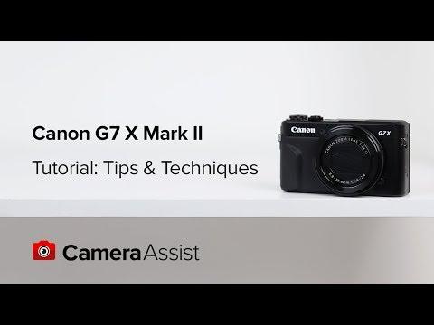 Canon Powershot G7X II Tutorial