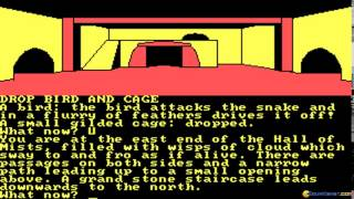 Jewels of Darkness (Trilogy) gameplay (PC Game, 1986)