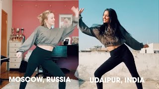 Now United - Dancing to 'Don't Start Now' At Home from India & Russia!