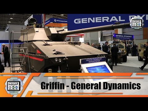 Griffin Tracked Armored Vehicle General Dynamics For US Army Next Generation Combat Vehicle NGCV
