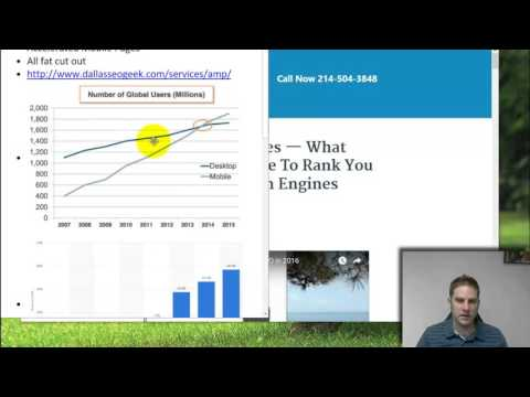 AMP SEO -- Accelerated Mobile Pages in Google