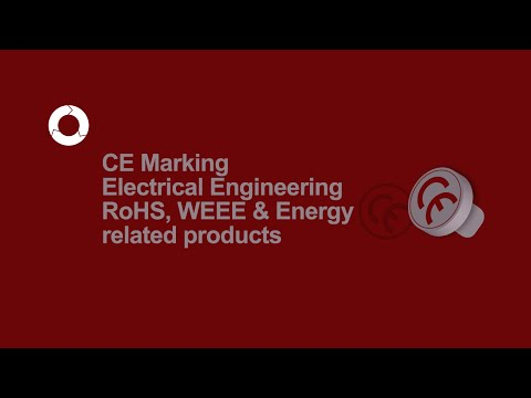 CE Marking Electrical Engineering | RoHS, WEEE, Energy Related Products