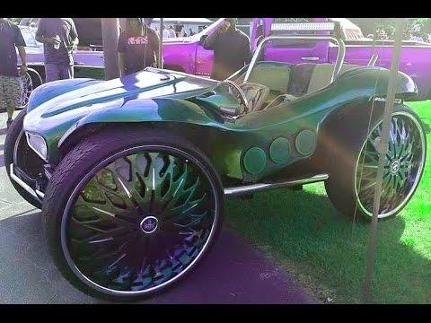 Wheeleez Folding Beach Cart - Big 30 CM Soft Beach Wheels |Big Wheels Beach Buggy