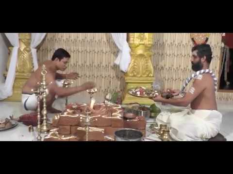 Ganapathy Homam at Kovilagham by Sabarimala Chief Priest