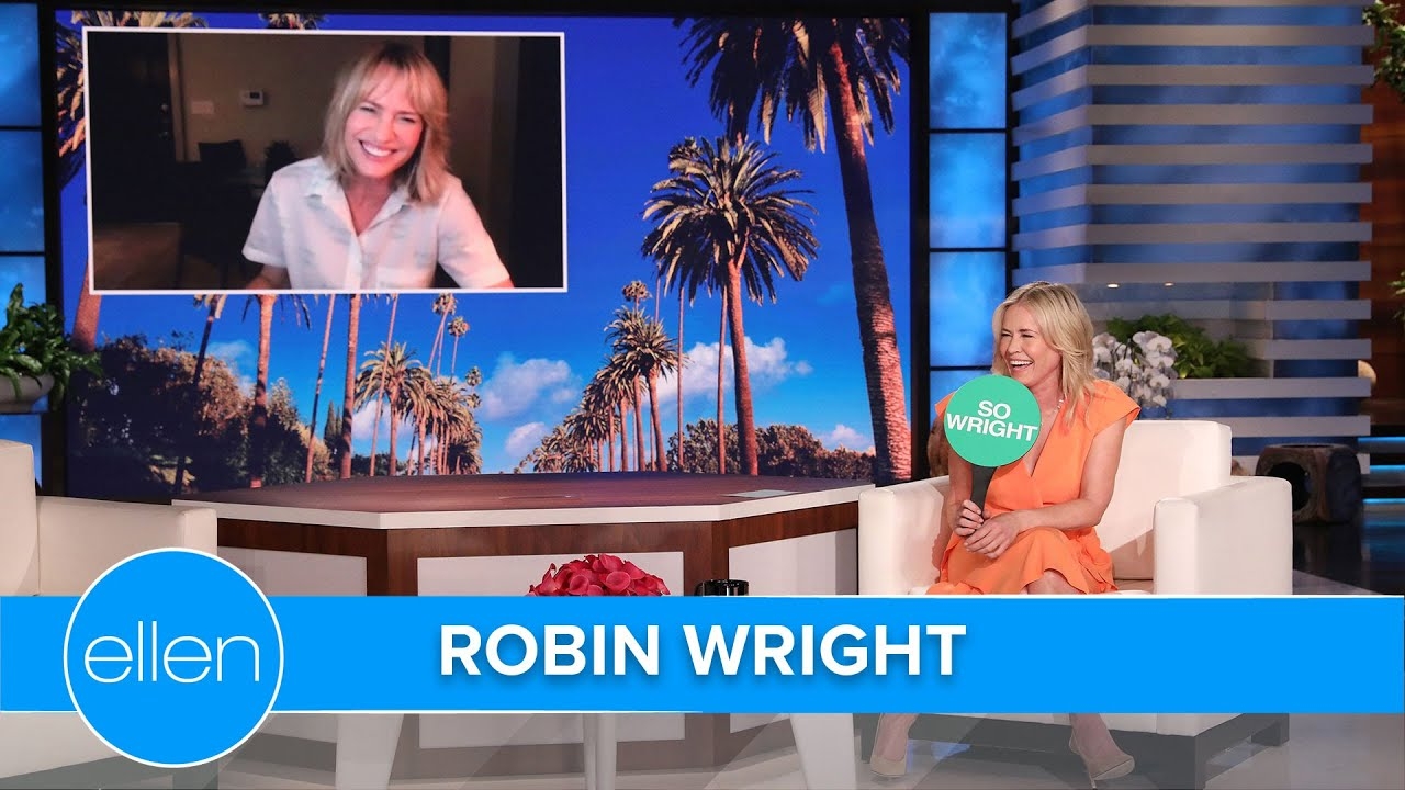 Robin Wright & Chelsea Handler on Staying Friends with Your Ex