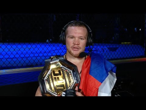 UFC 251: Петр Ян - Слова после боя