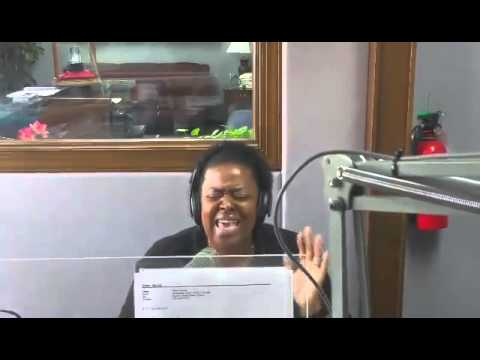 "Monica Hawthorne-Akerele Singing ""Never Give Up"""