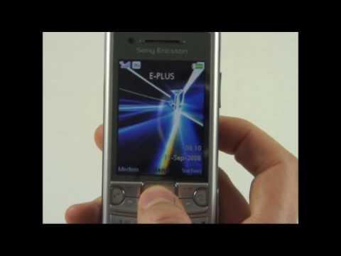 Sony-Ericsson C510 Test Bedienung