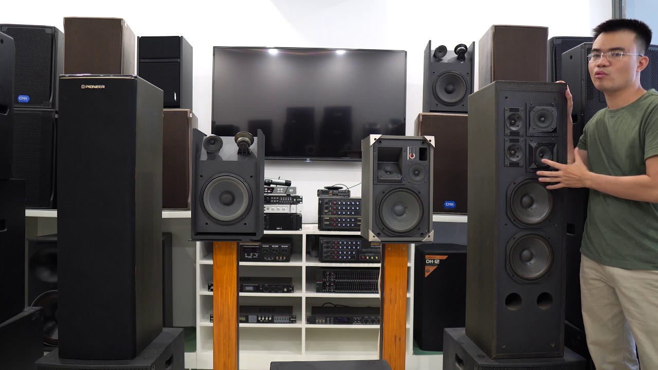 Loa Pioneer V50F loa khủng cho karaoke, hàng đẹp giá siêu tốt chỉ 12tr5 LH 0969991779