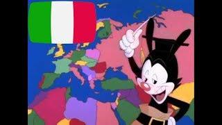"""Cover della canzone Yakko's World della serie """"Animaniacs"""". Tutti i..."""