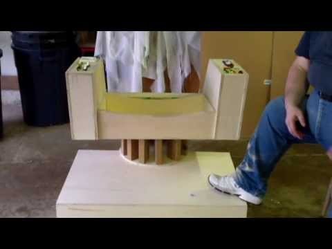 Star Trek Captain Kirks Command Chair Build Special Edition 2 – Star Trek Captain Chair