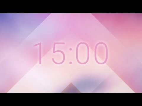 15 Minute Timer With Productivity Music
