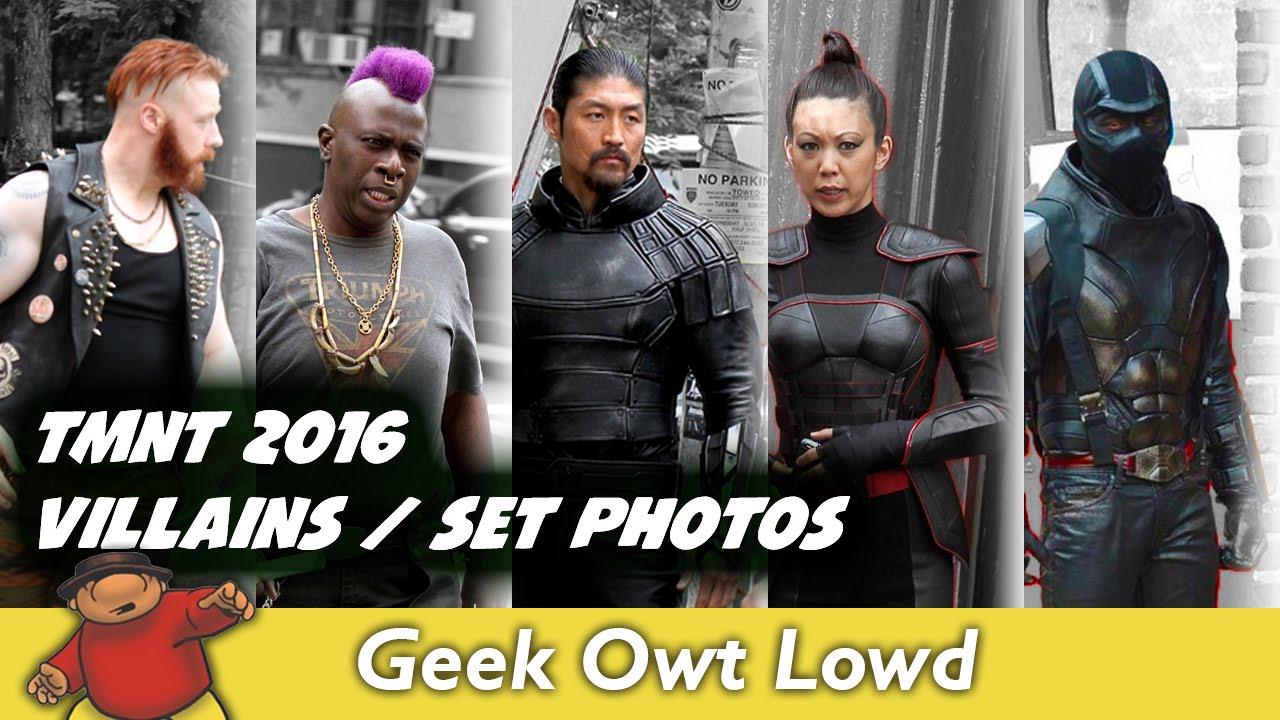 Tmnt 2 2016 Villains Set Photos News Speculation Youtube