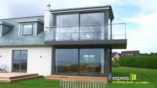 Express Bi Folds - Stunning Glass Sliding Doors.