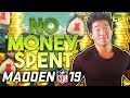 THE UNDERDOG STORY! NO MONEY SPENT EP 1! Madden 19 Ultimate Team