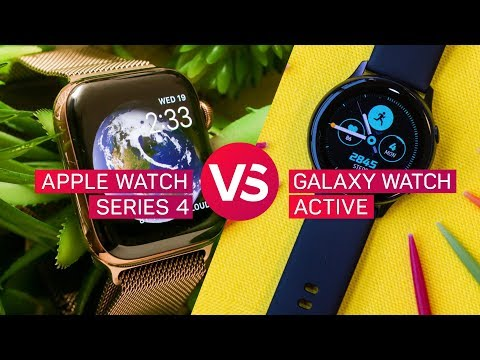 Apple Watch Series 4 vs. Samsung Galaxy Watch Active