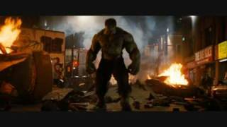 El Increible Hulk  2 movie-Staind