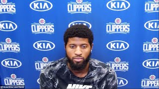 Paul George Postgame Interview | Pelicans vs Clippers | August 1, 2020
