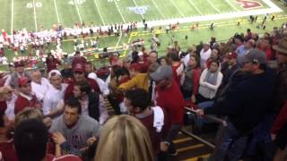 Bama Mom Goes Crazy on OU Student -Raw footage