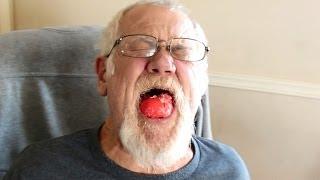 GRANDPA HATES PICKLED EGGS! *Vomit Alert*