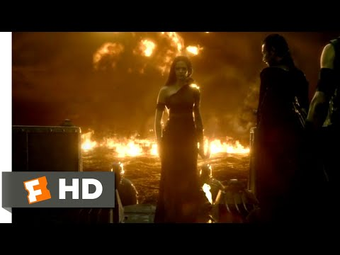 300: Rise of an Empire (2014) - Ocean of Fire Scene (7/10)   Movieclips