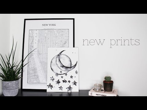 NEW PRINTS HAUL // artwork I've recently bought | Amy Farquh