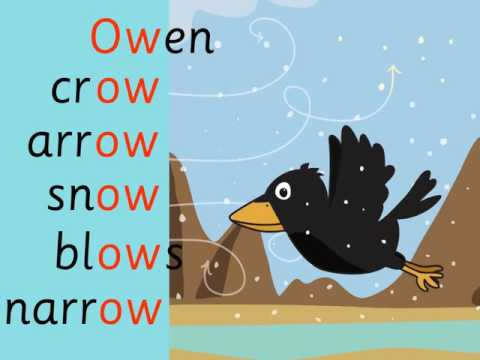 Owen Crow: ow digraph by phab fonics