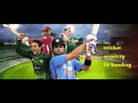 IIT Bombay Cricket Miming excellent