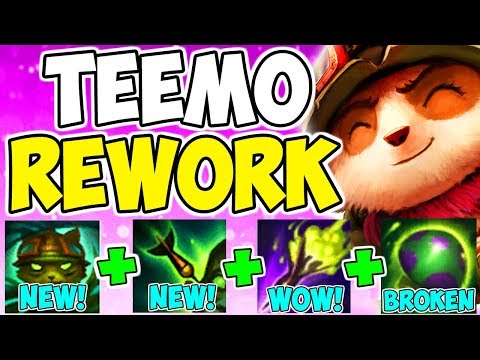 THE MOST BROKEN CHANGE EVER! New Teemo Rework On-Hit Attack Speed Build Top League Of Legends S9