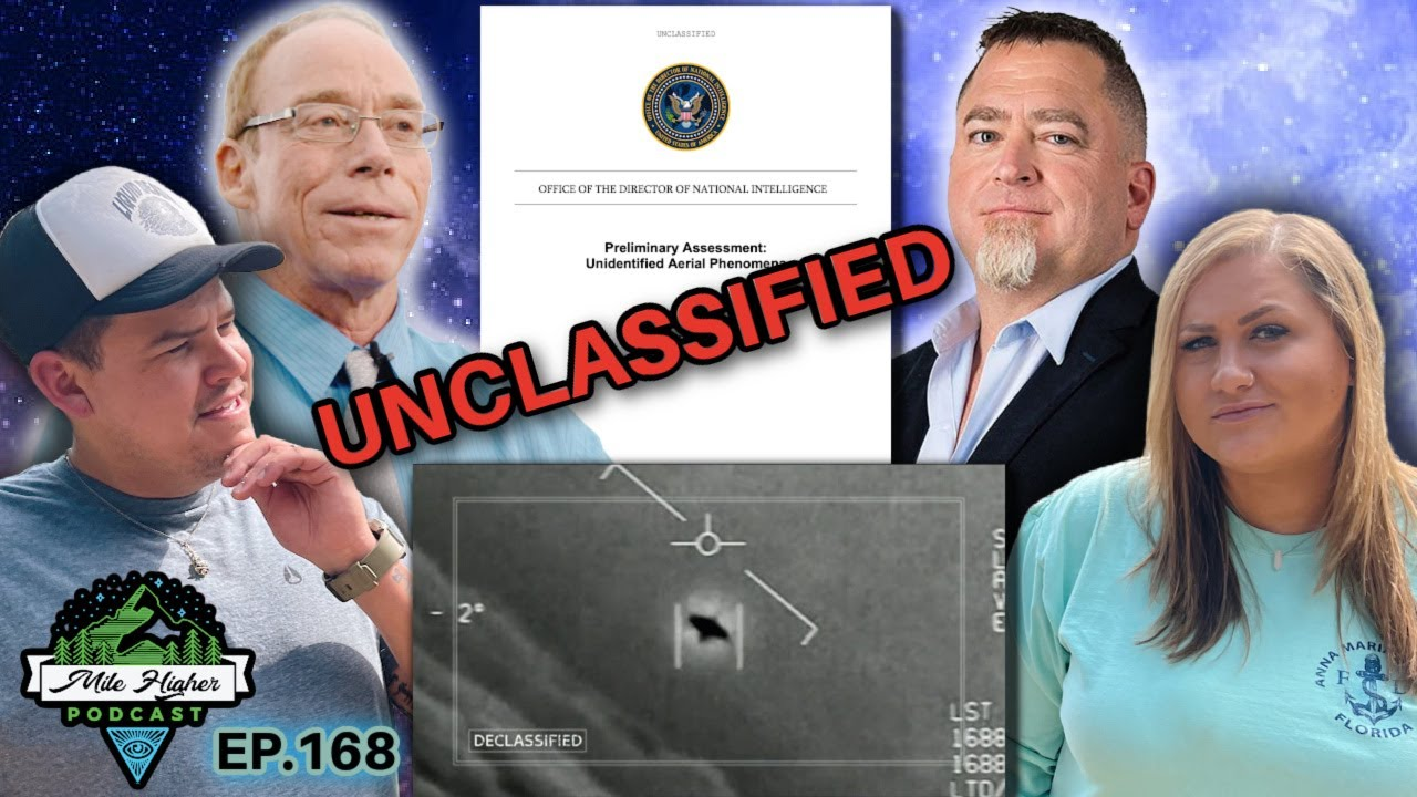 The Unclassified Govt. UFO Report & Theories + Dr Greer's Documentary The Cosmic Hoax - Podcast #168