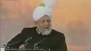 Hazrat Mirza Tahir Ahmad Question and answer