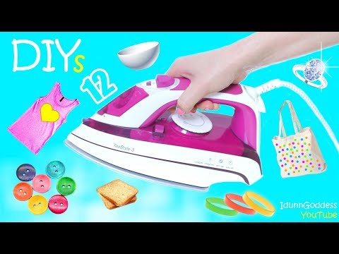 12 DIY Projects With Clothes Iron – 12 New Fun Things and Life Hacks You Can Make With Iron