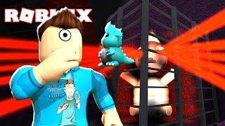 ESCAPE THE EVIL BABY OBBY IN ROBLOX!!! | MicroGuardian