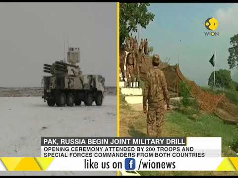 Russia, Pakistan begin two-week joint training exercise