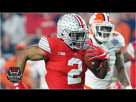 J.K. Dobbins breaks Buckeyes' single-season rushing record vs. Clemson | College Football Highlights