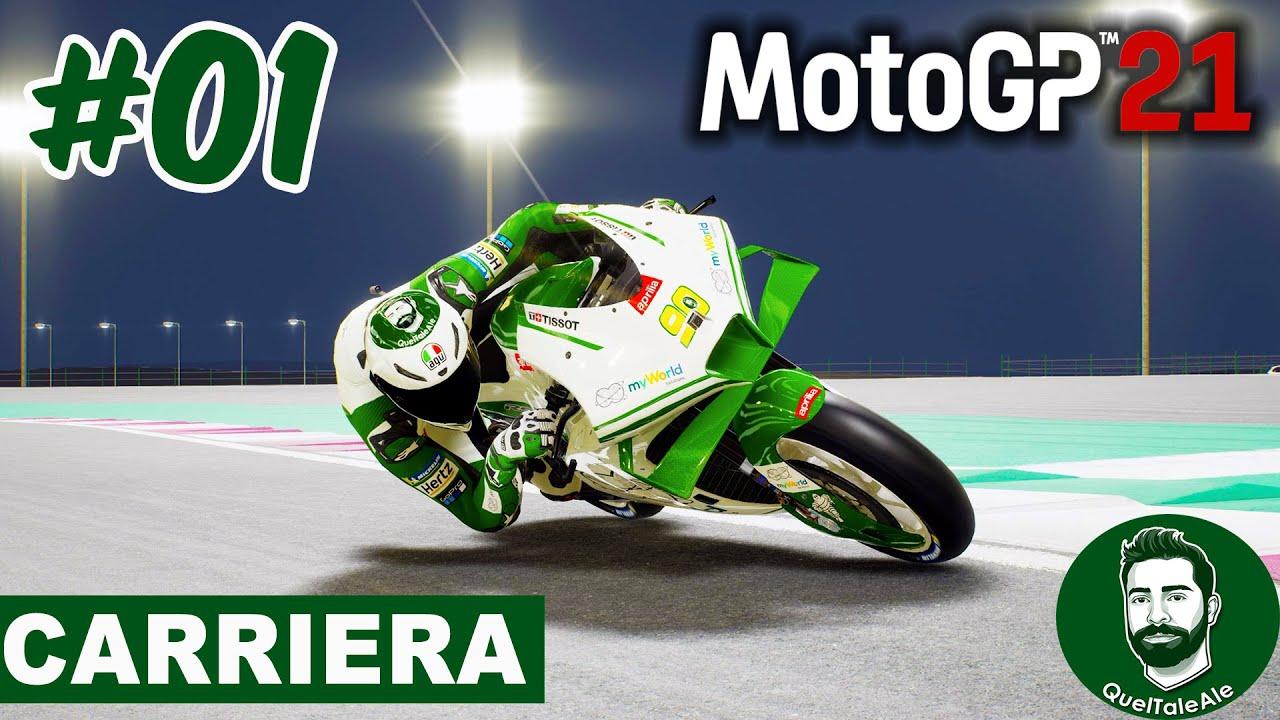 MotoGP 21 - Gameplay ITA - INIZIA LA CARRIERA