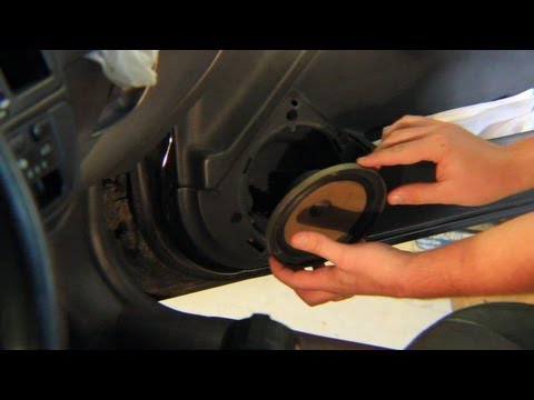 How To Replace Front Speaker Honda Civic Youtube