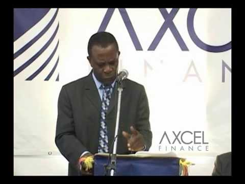 Axcel Finance Official Launch in Grenada with PM Mitchell