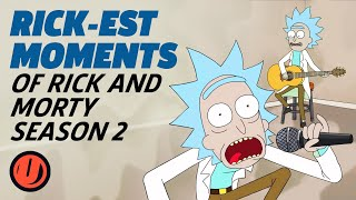 The Rickest Moments From Rick And Morty Season 2 Youtube