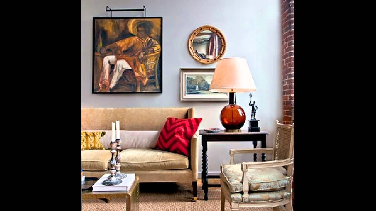 Red Table Lamps for Living Room - YouTube