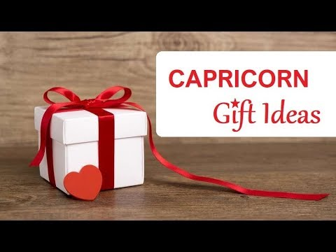Gift Ideas For A CAPRICORN ❤️