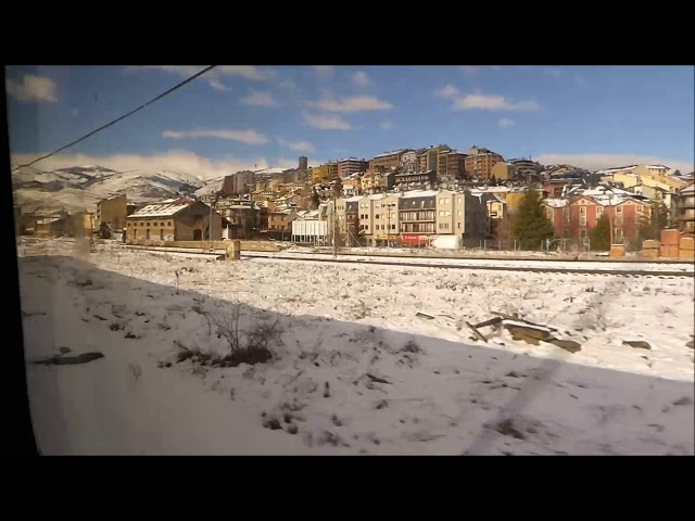 Puigcerdà totalment nevat - Gener 2018