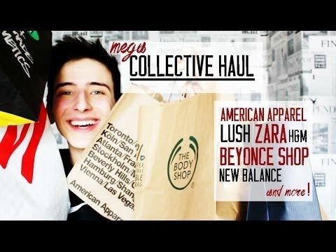 MEGA collective HAUL   American Apparel, Lush, Beyoncé Shop, New Balance & MORE!:)