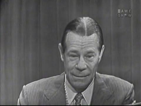 What's My Line? - Joe E. Brown (Jan 11, 1953)