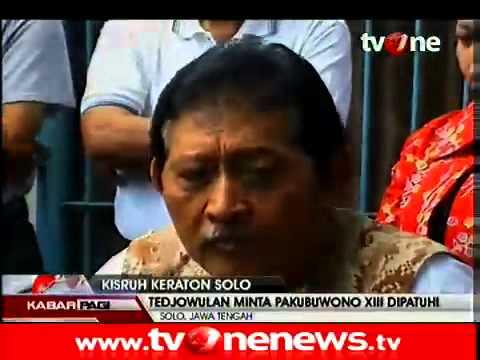 Pakubuwono XIII Angkat Bicara Soal Kisruh Keraton Surakarta